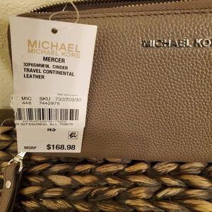 Mk wristlet wallet